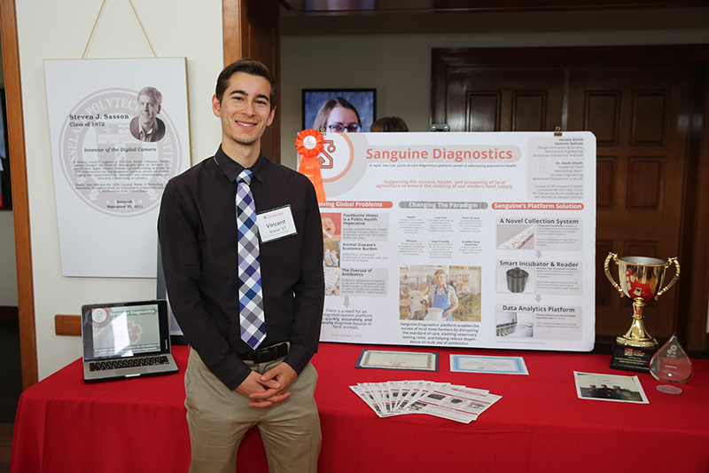 Saguine Diagnostics at RPI Celebration of Support